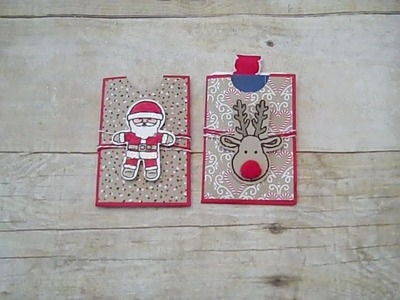 Gift Card Holders Cookie Cutter Christmas