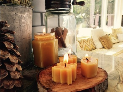 How To Make Candles | Autumn Craft