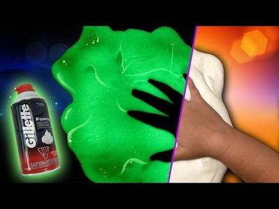 How to Make Fluffy Slime. Glow in the Dark. DIY Slime. No Blacklight Fluffy Slime Recipe