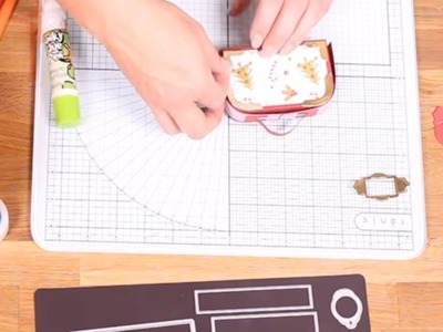 How to make the Kings Cross Christmas Bag 765E - Tonic Studios Tutorial