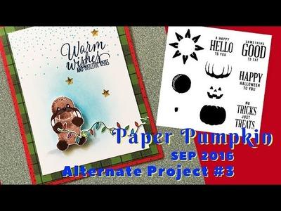 Paper Pumpkin Sep 2016 Alternate 3