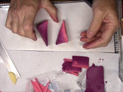 Polymer Clay Monochrome Kaleidoscope Cane Tutorial