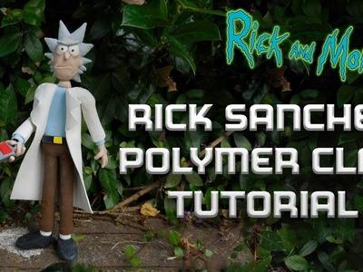 Rick Sanchez Polymer Clay Tutorial