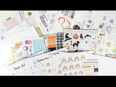 Sticker Haul! Halloween, Thanksgiving, And Christmas! | Jessica Wilson