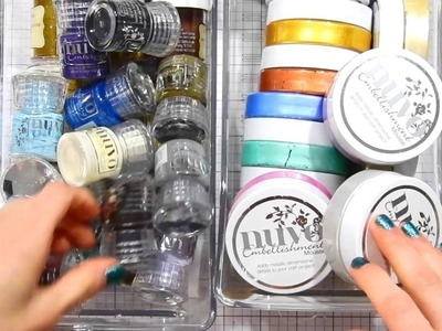 Studio Monday with Nina Marie: 10 Craft Room Organization Quick Tips