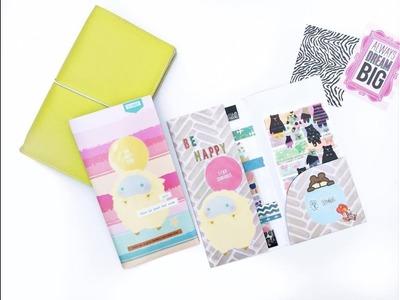 Tutorial   DIY Traveler's Notebook Kraft Folder