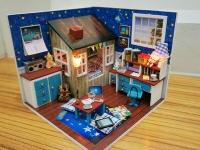 'Wishes in the Stars' DIY Miniature Bedroom ('星语心愿' DIY 小屋)