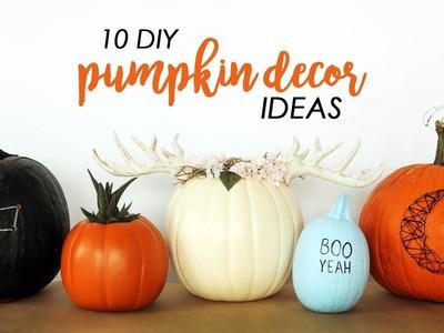 10 DIY PUMPKIN DECOR IDEAS | THE SORRY GIRLS