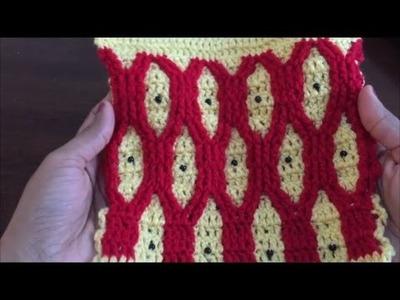 Crochet Pattern - Cable Wave Crochet Stitch