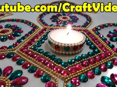 Diwali Decoration Ideas : How to Decorate Diwali Diyas | Christmas Decor