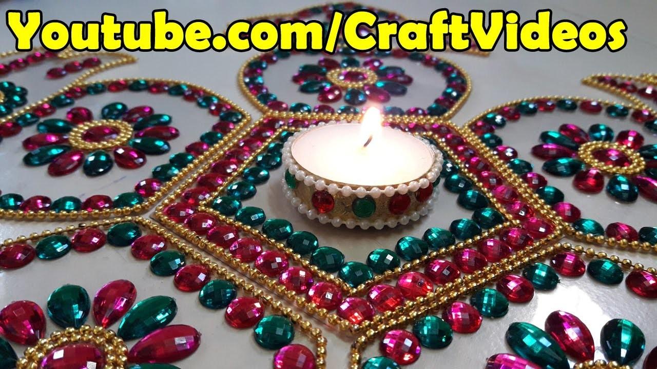 Diwali Decoration Ideas : How to Decorate Diwali Diyas | Christmas Decor
