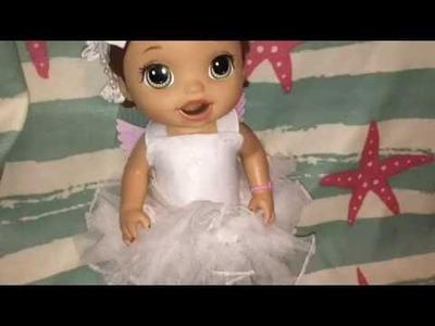 DIY ANGEL BABY ALIVE HALLOWEEN COSTUME! DIY BABY DOLL ANGEL COSTUME