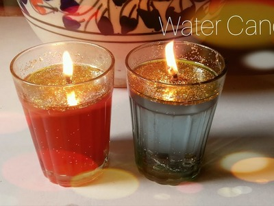 DIY Beautiful Water Candle| How to make Beautiful Water Candle