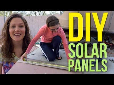 DIY Build Solar Panels 1.2: Homemade from Scratch