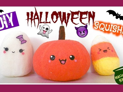 DIY Halloween Squishies Tutorial⎜ MiSweetWorld