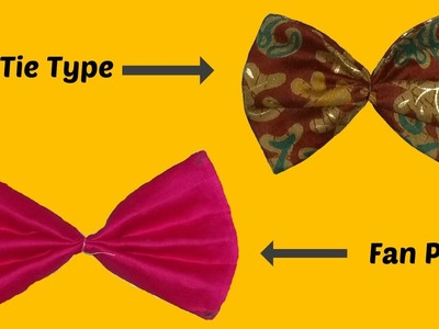 DIY How To Make Bow Tie And Fan Pleats Step By Step