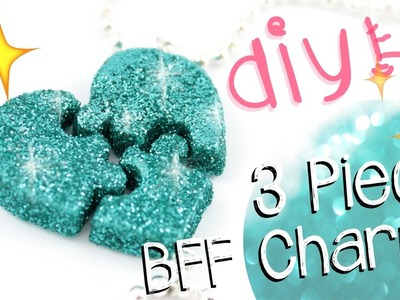 DIY PUZZLE Friendship Charms! - 3 Pieces! -