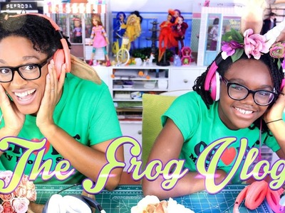 DIY - The Frog Vlog:  How to Make: Unicorn Headphones - COSPLAY - COSTUME - 4K