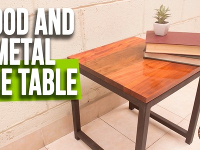 DIY Wood and Metal Table | Reclaimed wood coffee table | Interio Workshop