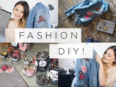 ​EASY ​DIY - Personalise Your Clothes​! | #PersonalizeMe | ad