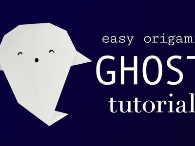 Easy Origami Ghost Tutorial V2