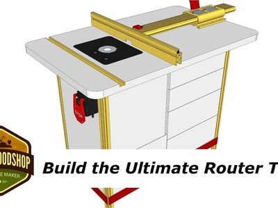 How To Build the Ultimate Router Table with Incra - Pt.1