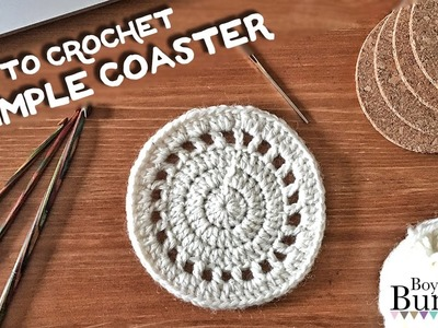 How To Crochet A Simple Coaster