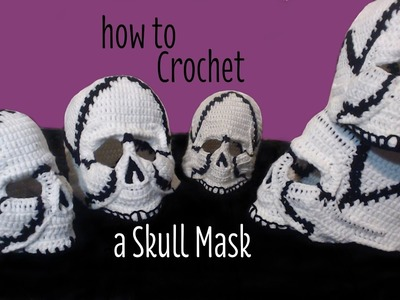 How to Crochet a Skull Mask (Part 6)