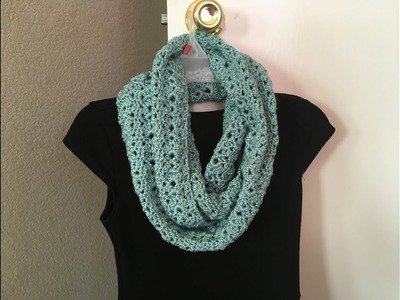 How to crochet infinity scarf