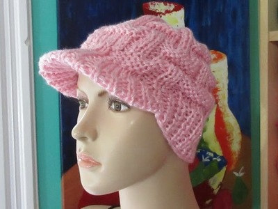 How to knit a hat for beginners in support of the fight against breast cancer