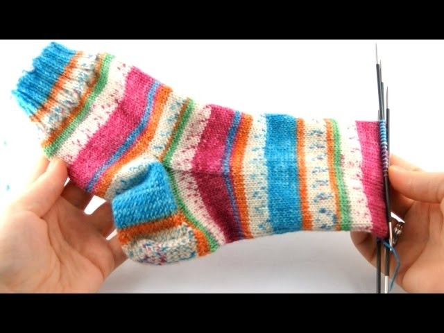 How to Knit Socks #6 Foot