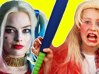 How to Make a Harley Quinn Costume for Halloween