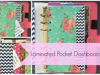 How to Make a Laminated Pocket Dashboard