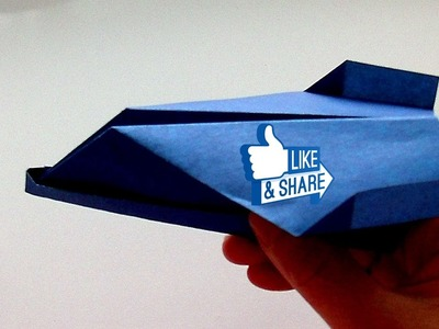 How to make a Paper Airplane  that FLY FAR