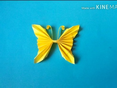 How to make a paper butterfly | Easy origami butterflies forkids