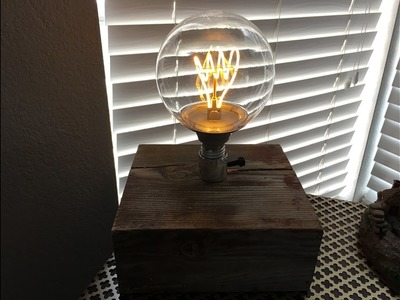 How to Make a Simple Desk Lamp