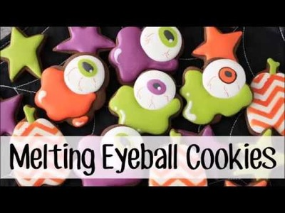 How To Make Decorated Melting Eyeball Sugar Cookies