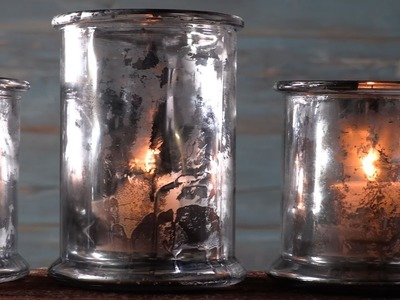 How To Make Faux Mercury Glass   Southern Living