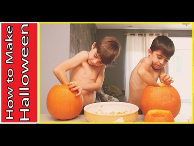 How to Make Halloween Pumpkin
