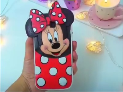 How to make mini mouse cover for your mobile