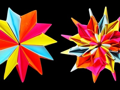 How to make Never Ending Origami Kaleidoscope Flower (DIY Crafts) : HD