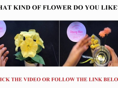 HOW TO MAKE PAPER FLOWERS - 22 Different DIY paper flower tutorials | by Dzung Mac