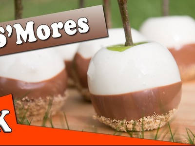 How to make S'mores Candy Apples - For Halloween