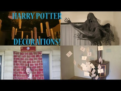 How to Make The Best Harry Potter Decorations - Party Ideas!