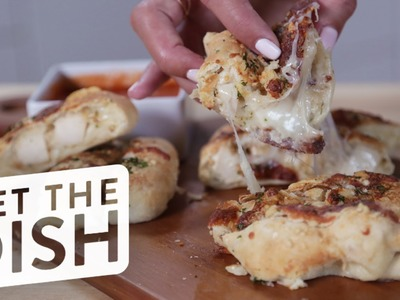 How to Make The Ultimate Garlic Bread, Stuffed With Chicken and Cheese | Get the Dish