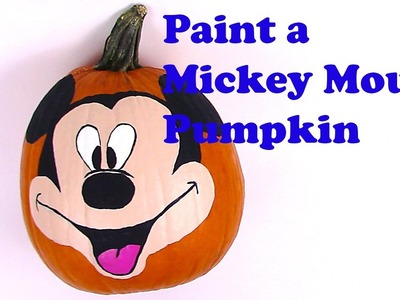 Finger painting christmas craft paint a christmas tree for How to paint a mickey mouse pumpkin