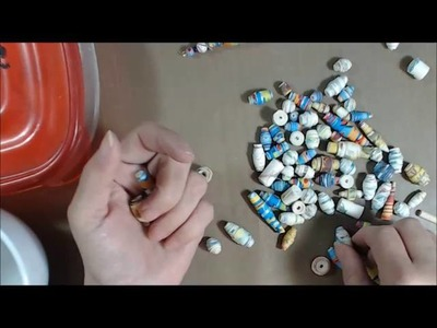 PT 2 DIY PAPER BEADS WITH NAPKINS