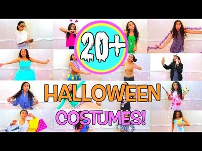 20+ Easy & Cute DIY Last Minute Halloween Costumes 2016!