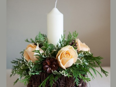 Christmas Table Centerpiece How To