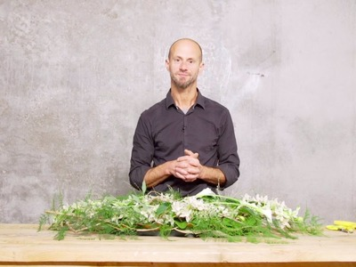 Delicate Funeral Design by David Ragg | Flower Factor How to Make | Powered by LZ Orchidee